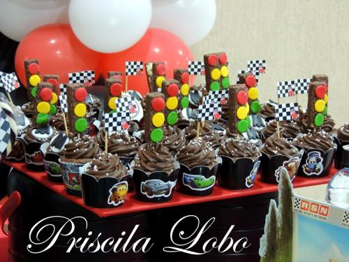 Cup Cake Carros.